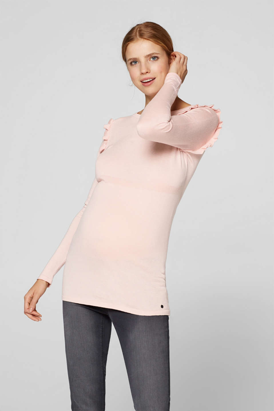 Sweaters, LCLIGHT PINK, detail image number 0
