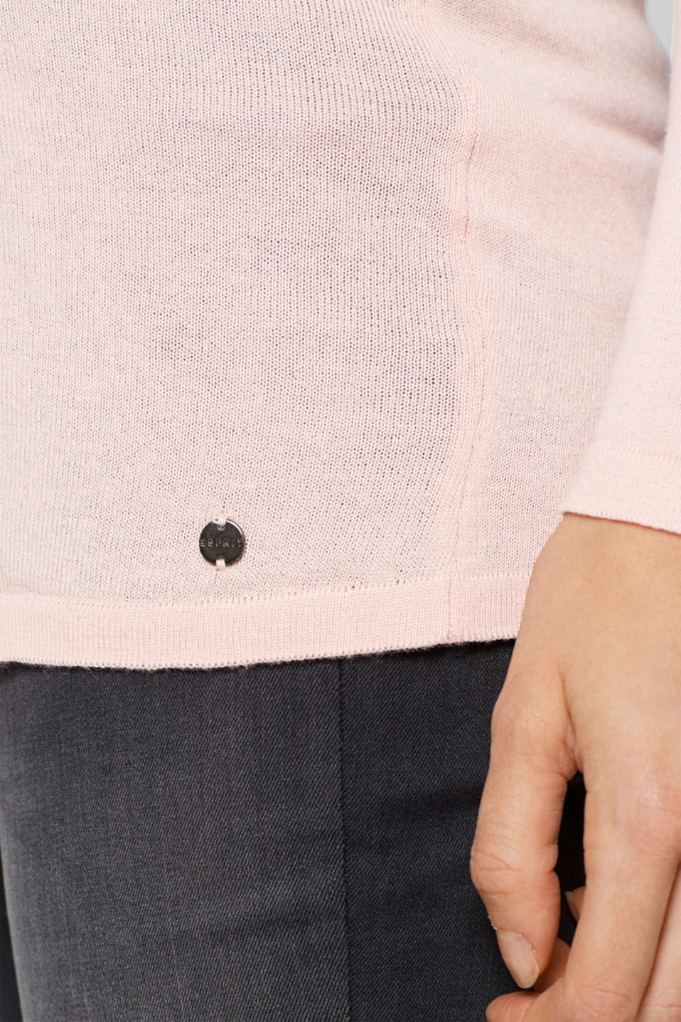 Sweaters, LCLIGHT PINK, detail image number 1