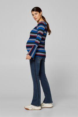 Esprit - Stretch-Jeans mit Webbändern und Überbauchbund im Online ... 539d83380b