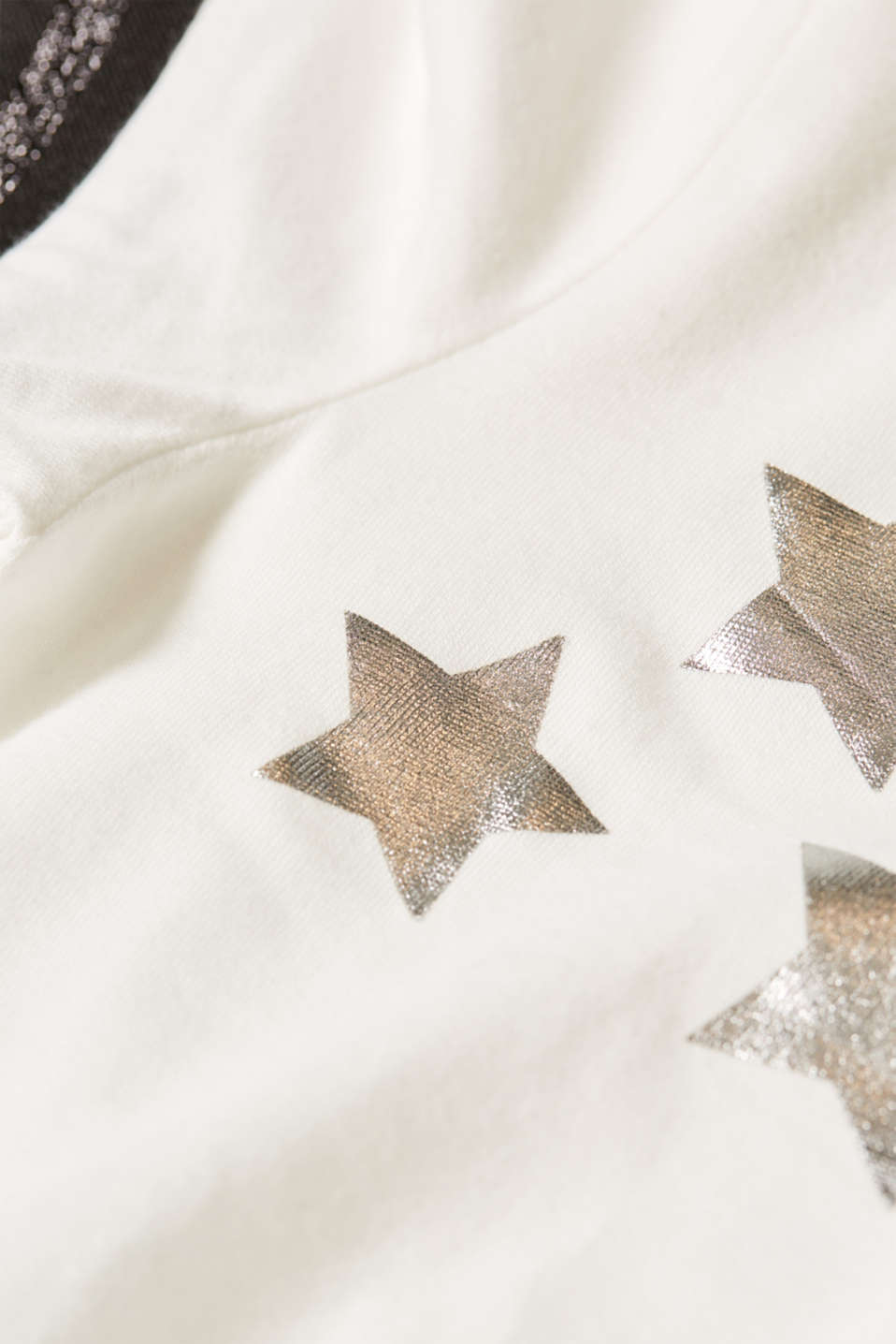 Printed top with elasticated edges, LCOFF WHITE, detail image number 4