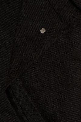 Textured top with chiffon sleeves, LCBLACK, detail
