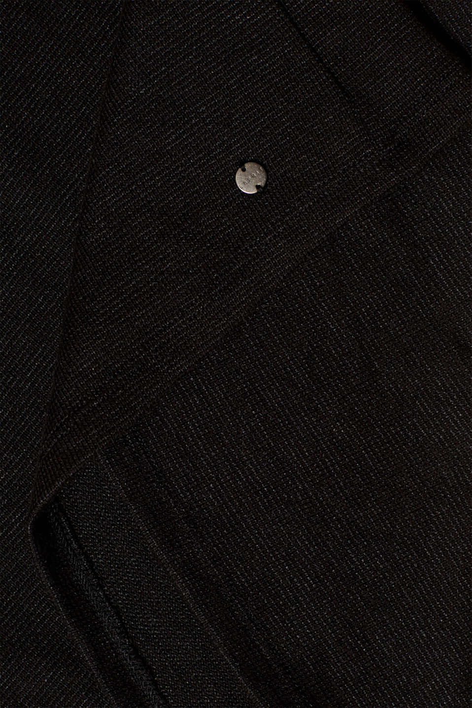 Textured top with chiffon sleeves, LCBLACK, detail image number 3