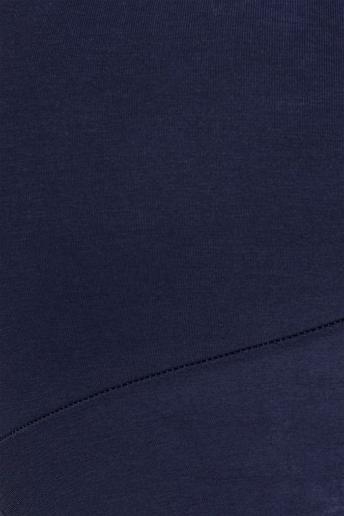 Stretch leggings + above-bump waistband, NIGHT BLUE, detail image number 1