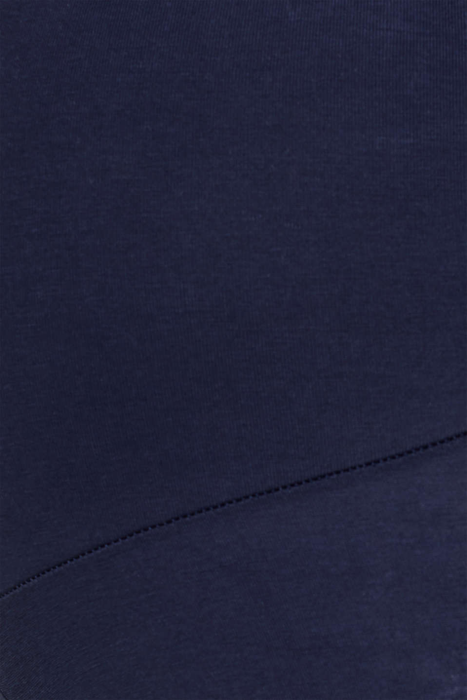 Stretch leggings + above-bump waistband, LCNIGHT BLUE, detail image number 1
