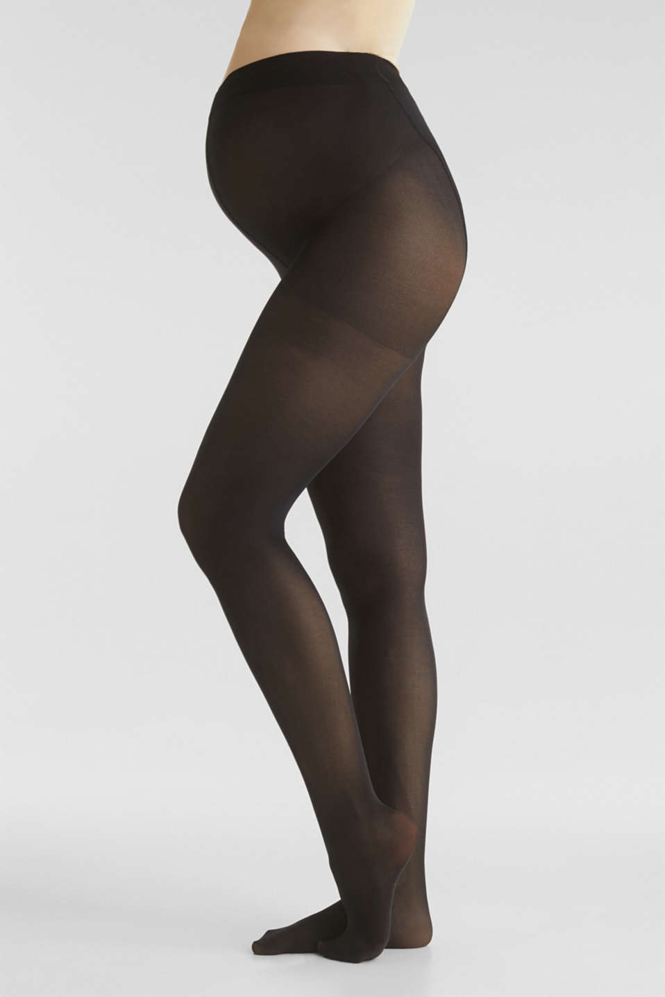 Wide waistband tights, LCBLACK, detail image number 0