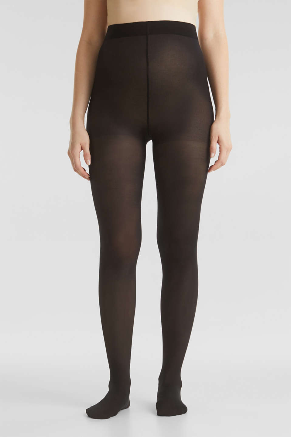 Wide waistband tights, LCBLACK, detail image number 1