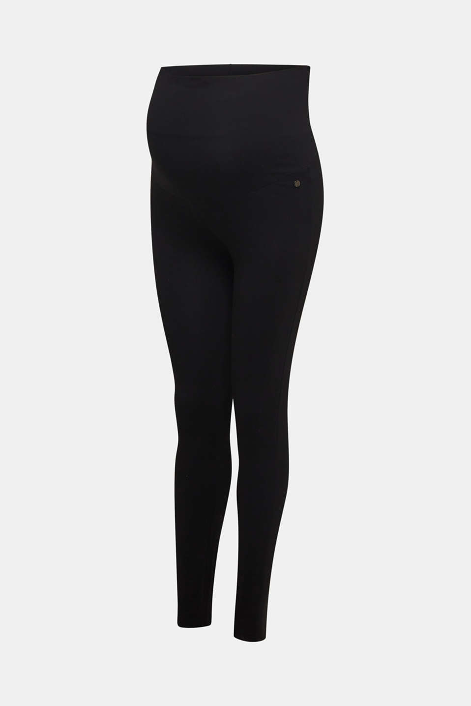 Leggings with an over-bump waistband, LCBLACK, detail image number 3