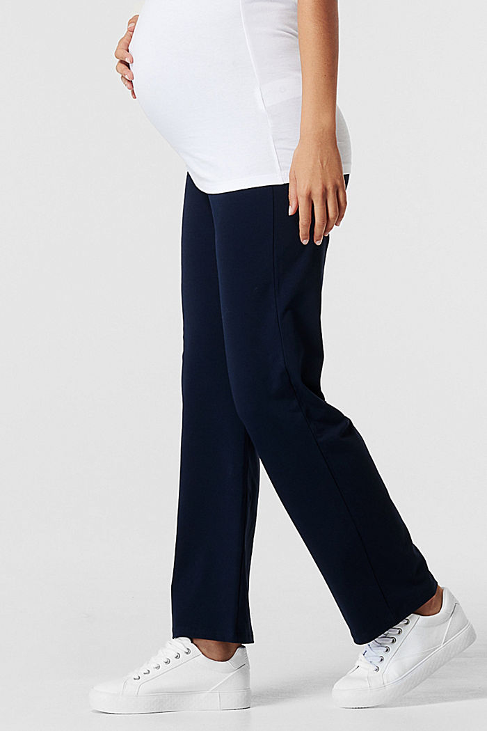 Pantalon en jersey à ceinture de maintien, NIGHT BLUE, detail image number 2