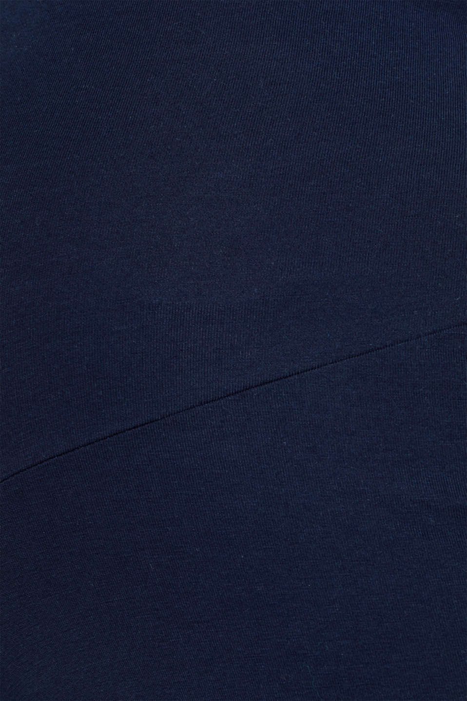 Stretch jersey trousers with an over-bump waistband, LCNIGHT BLUE, detail image number 3