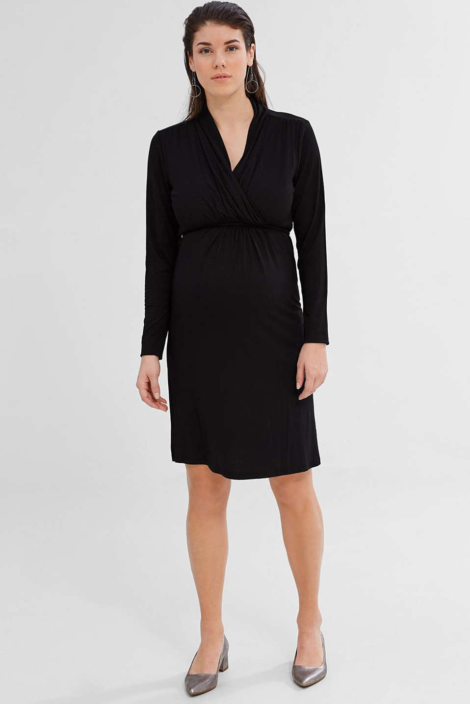 esprit robe d allaitement en jersey stretch acheter sur la boutique en ligne. Black Bedroom Furniture Sets. Home Design Ideas