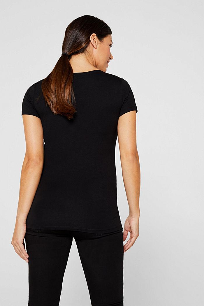 Stretch-Shirt mit Stillfunktion, BLACK, detail image number 3