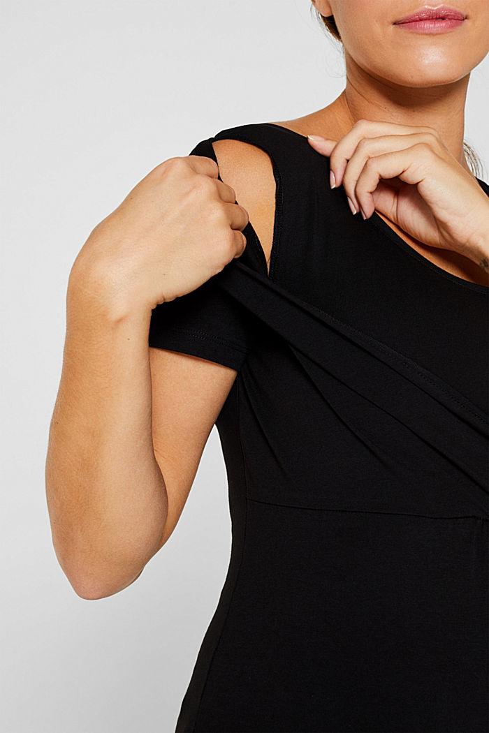 Stretch-Shirt mit Stillfunktion, BLACK, detail image number 2