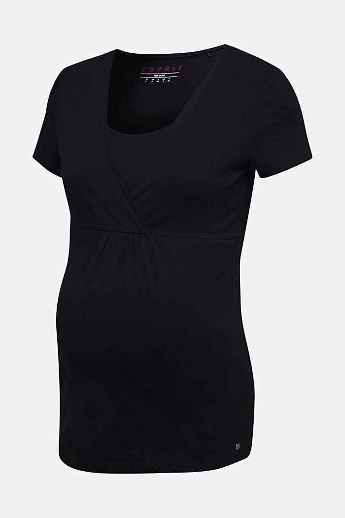 Stretch-Shirt mit Stillfunktion, BLACK, detail image number 6
