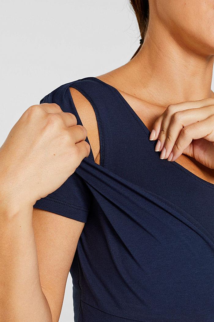 Stretch-Shirt mit Stillfunktion, NIGHT BLUE, detail image number 2