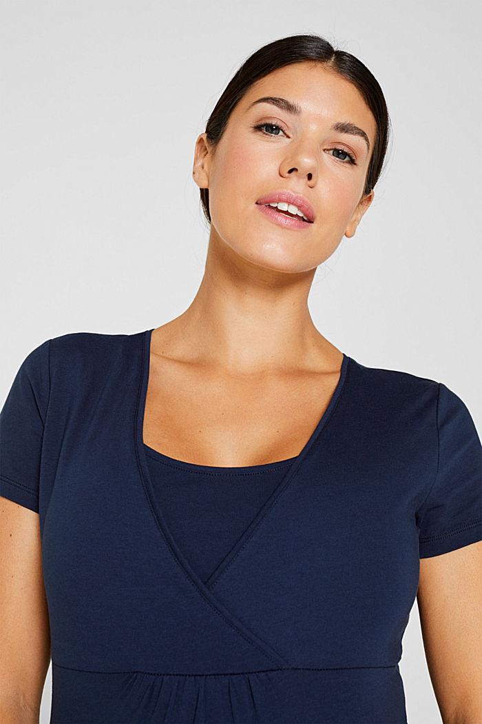 Stretch-Shirt mit Stillfunktion, NIGHT BLUE, detail image number 5