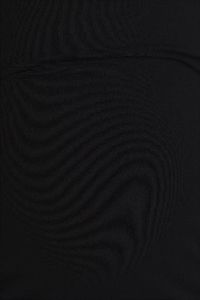 Stretch cotton vest, BLACK, detail image number 4