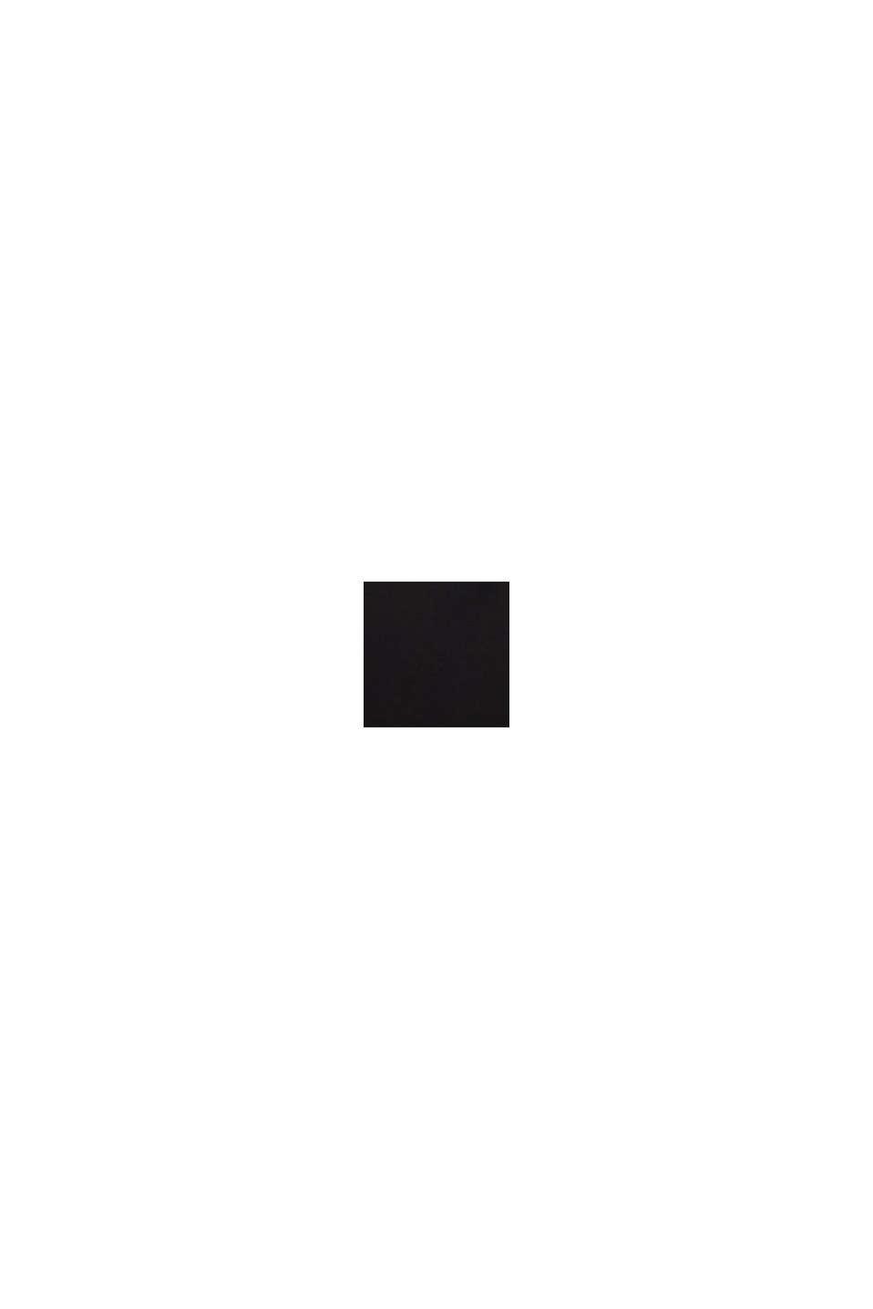 Bluzka do karmienia z długim rękawem, elastyczna, BLACK, swatch