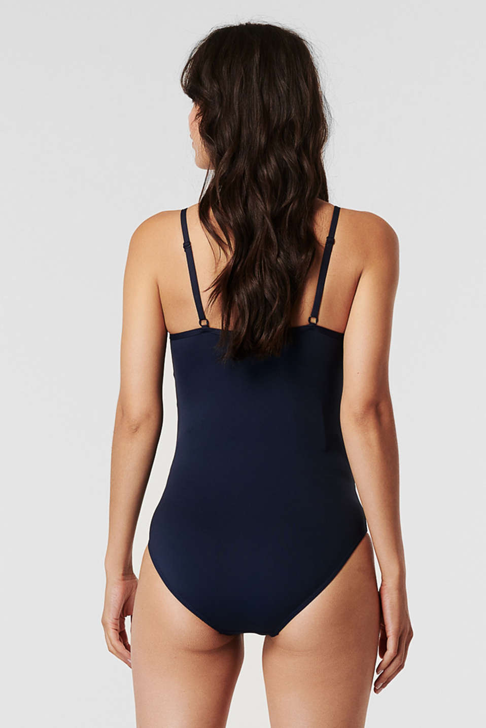 Swimsuit with padded cups, NIGHT BLUE, detail image number 1