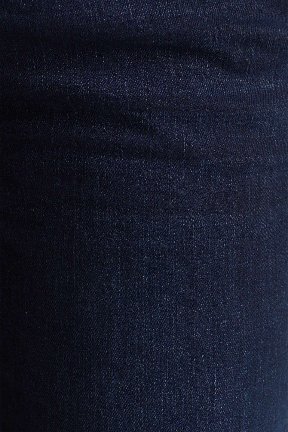 Stretch jeans with an over-bump waistband, LCDARKWASH, detail image number 4