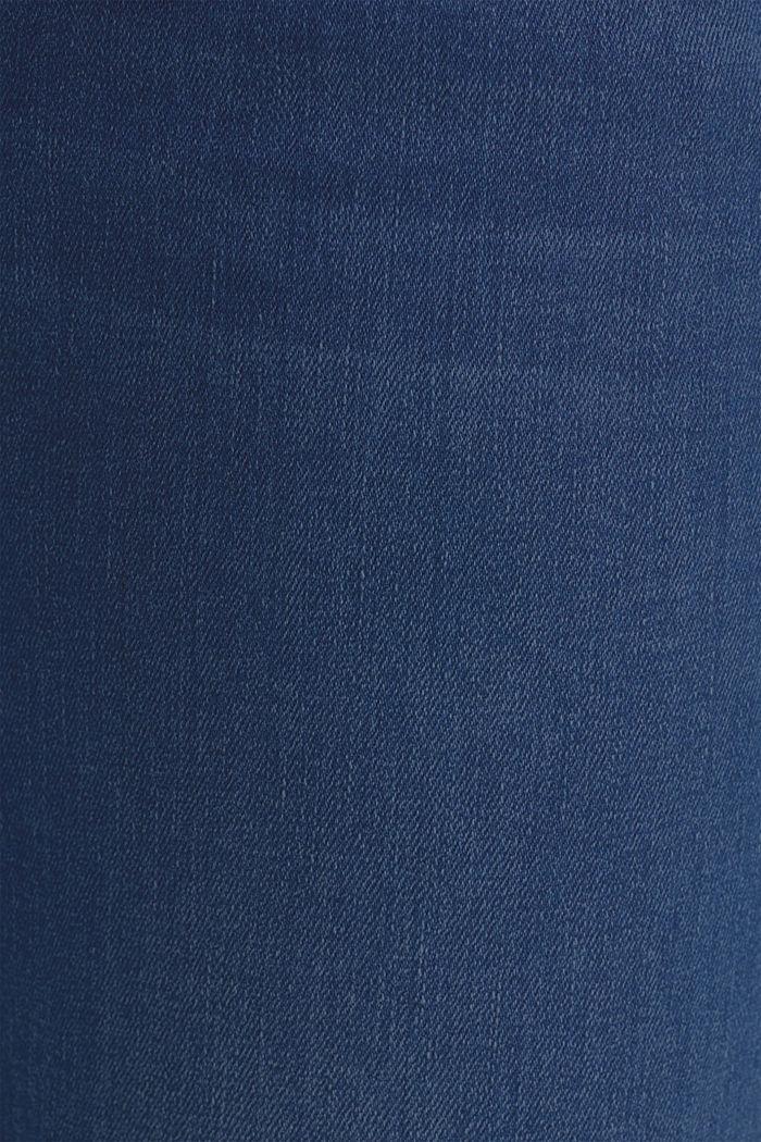 Stretch-Jeans mit Überbauchbund, BLUE MEDIUM WASHED, detail image number 4