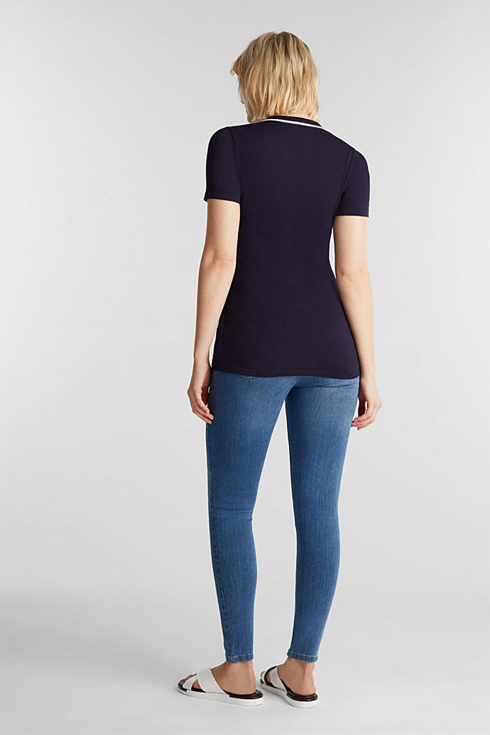 Stretch jeggings with an under-bump waistband, BLUE MEDIUM WASHED, detail image number 2