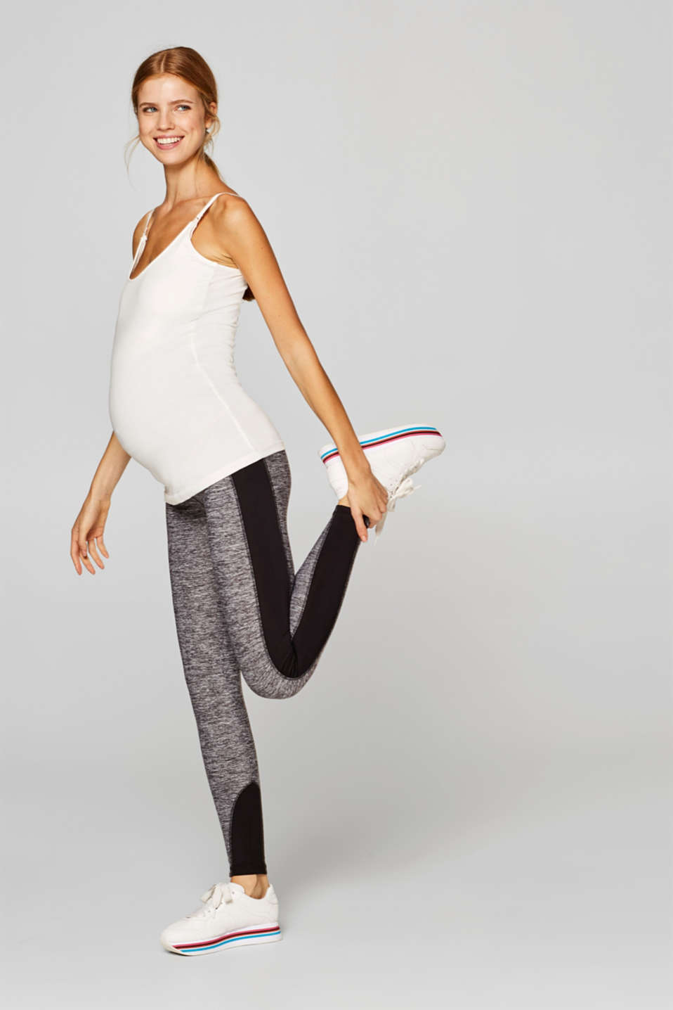 Esprit - Leggings active in materiale misto