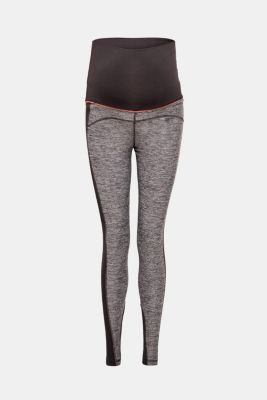 High-performance leggings in blended material, LCBLACK, detail