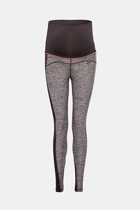 High-performance leggings in blended material