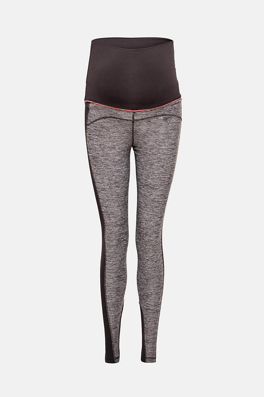 Leggings active in materiale misto