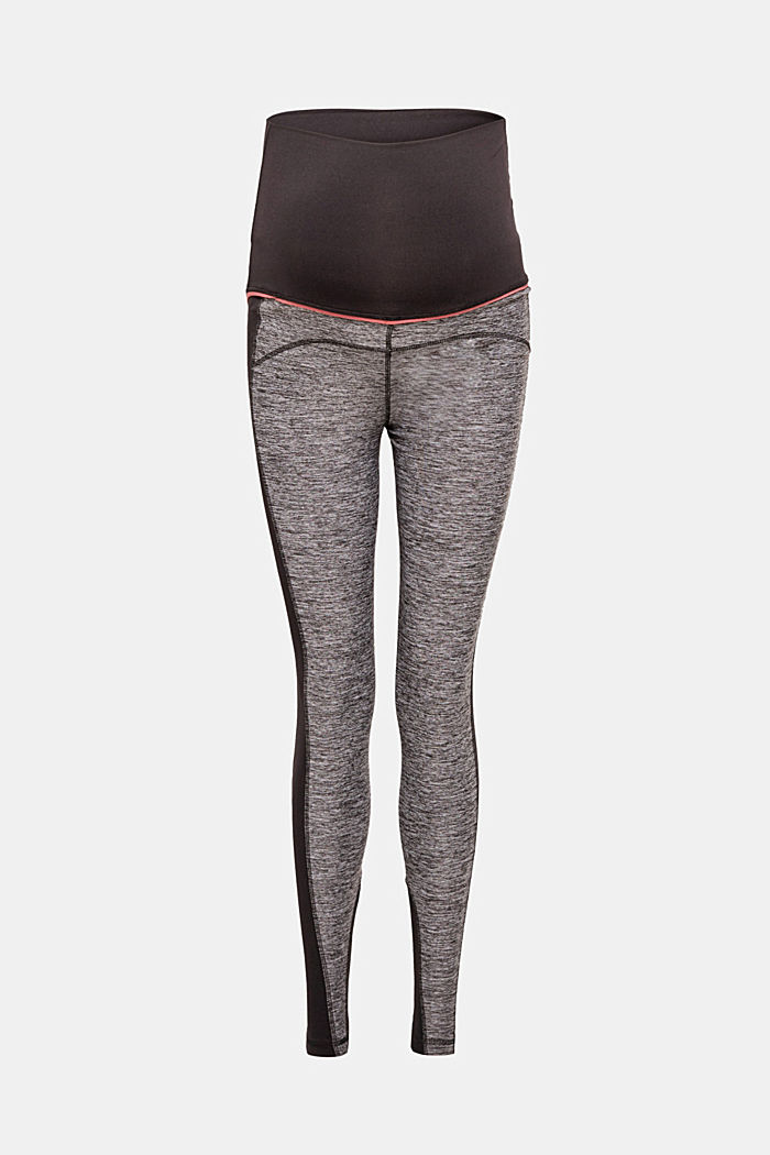Active-Leggings aus Material-Mix