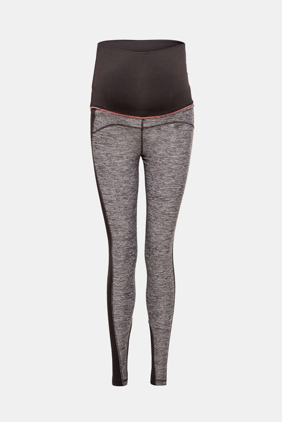 Esprit - Active-Leggings aus Material-Mix