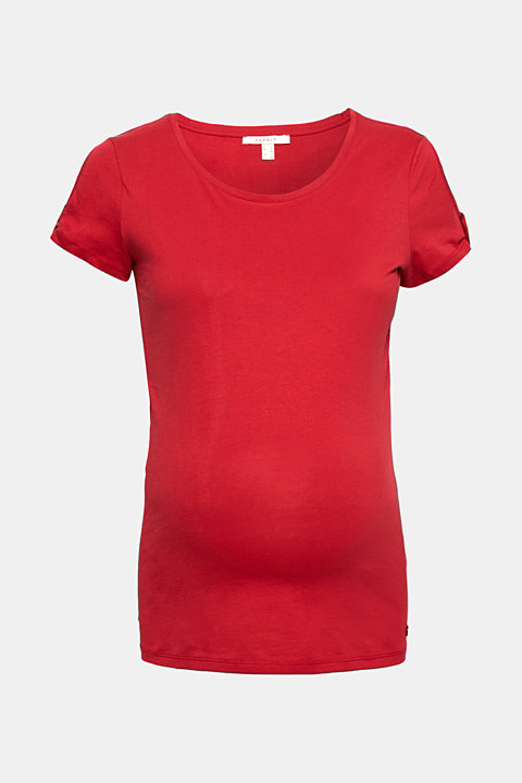 100% cotton T-shirt with cut-outs