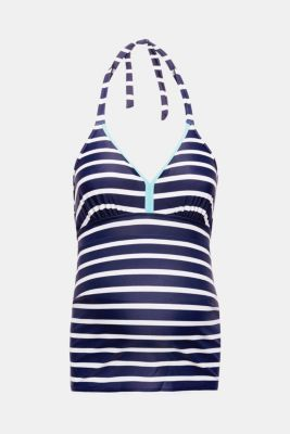 Tankini top with padded cups, LCNIGHT BLUE, detail