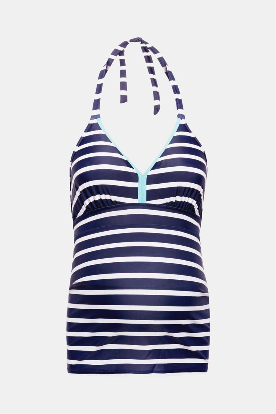 Tankini top with padded cups, LCNIGHT BLUE, detail image number 0
