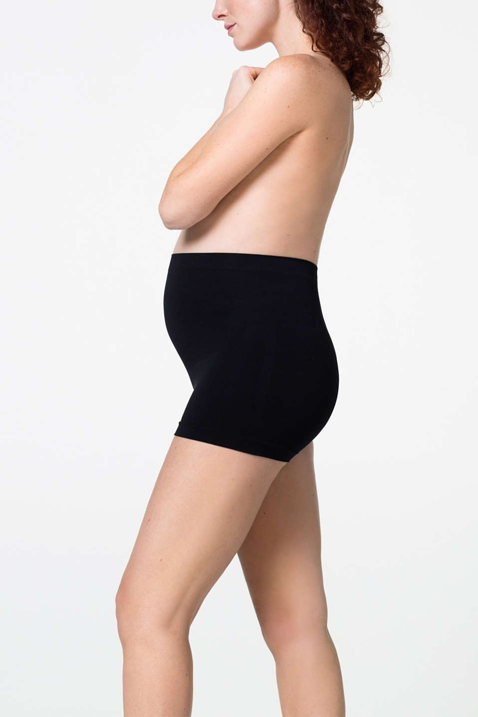 Esprit - Seamless shorts made of a soft material blend