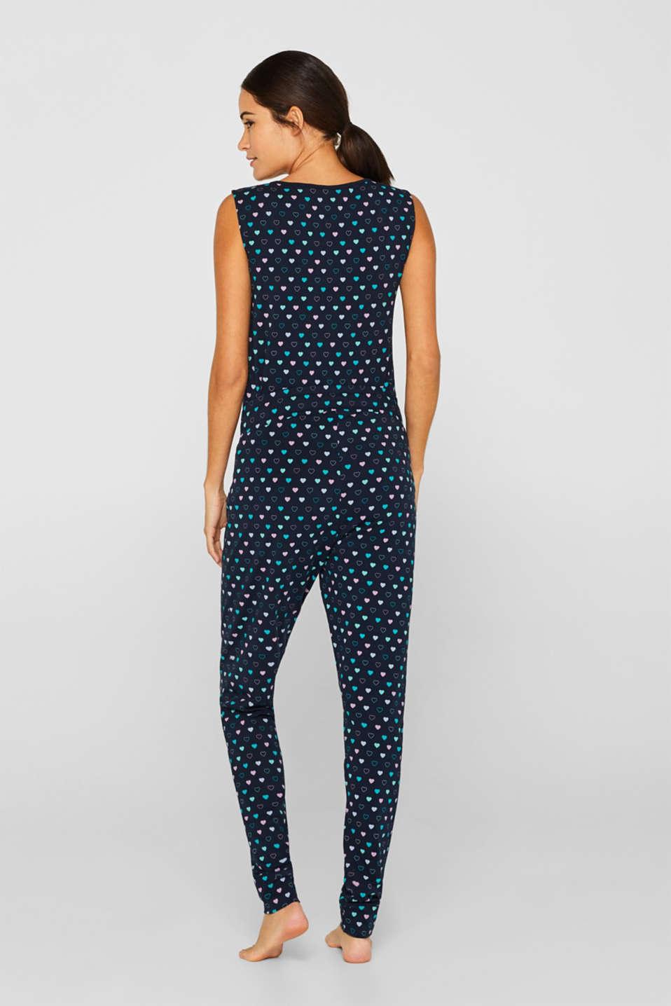 Mix + match pyjama bottoms with an under-bump waistband, LCNIGHT BLUE, detail image number 3