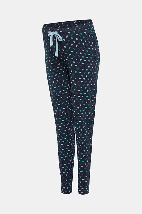 Mix + match pyjama bottoms with an under-bump waistband