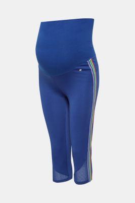 Leggings with an over-bump waistband, LCDARK BLUE, detail