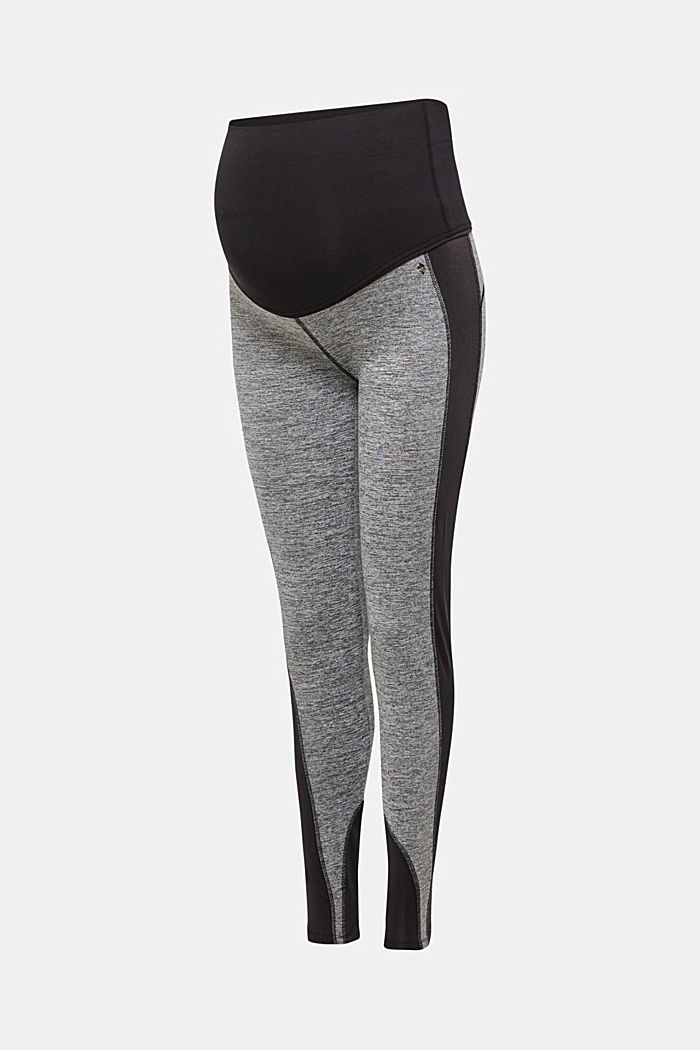 Legging van jersey, BLACK, detail image number 0