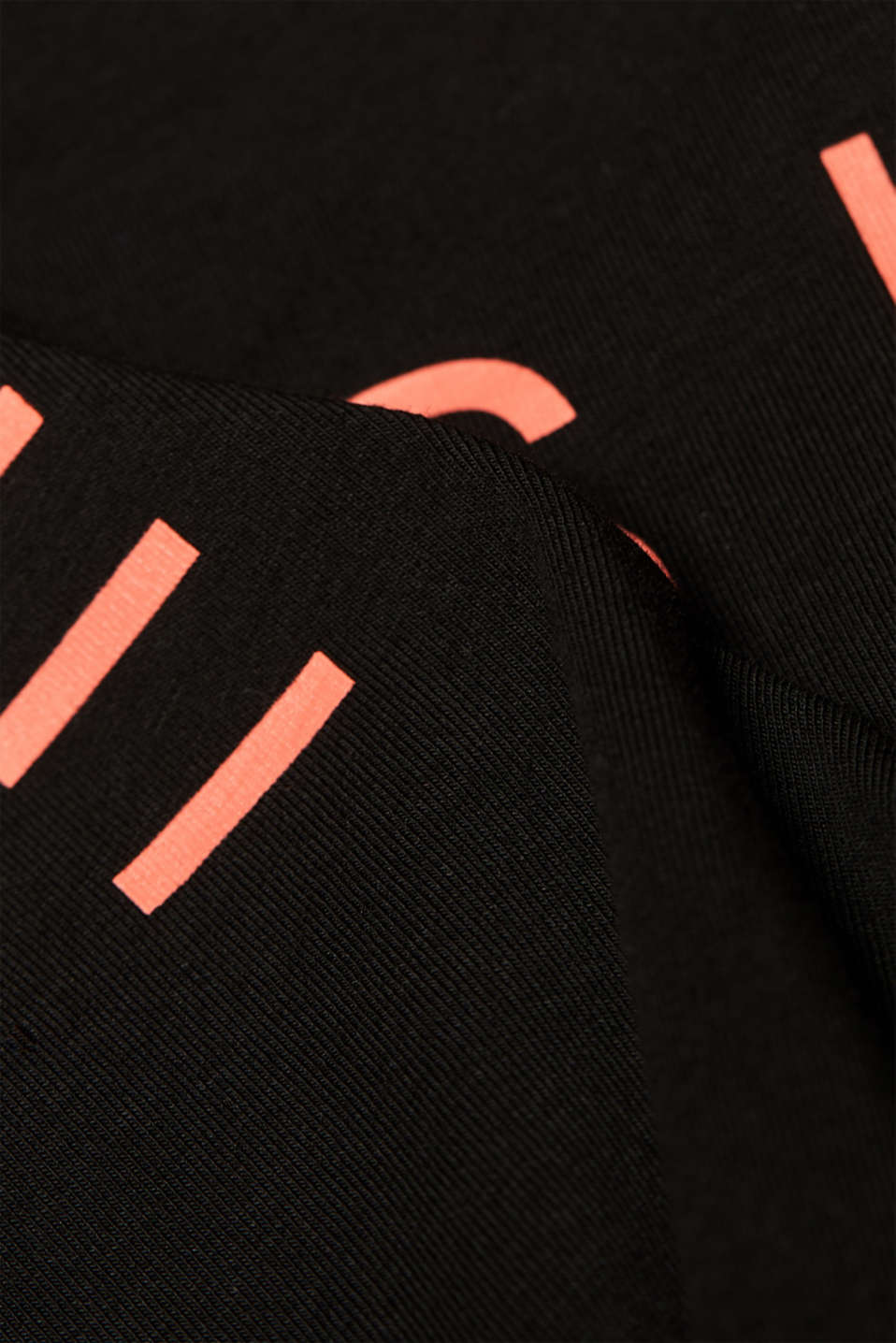 Stretch T-shirt with a neon logo, LCBLACK, detail image number 1