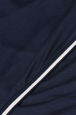Nursing top in stretch jersey, LCNIGHT BLUE, detail