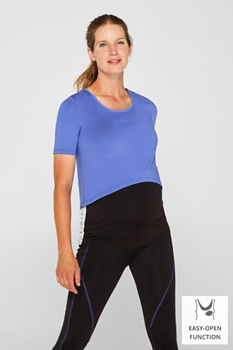 Layered nursing top