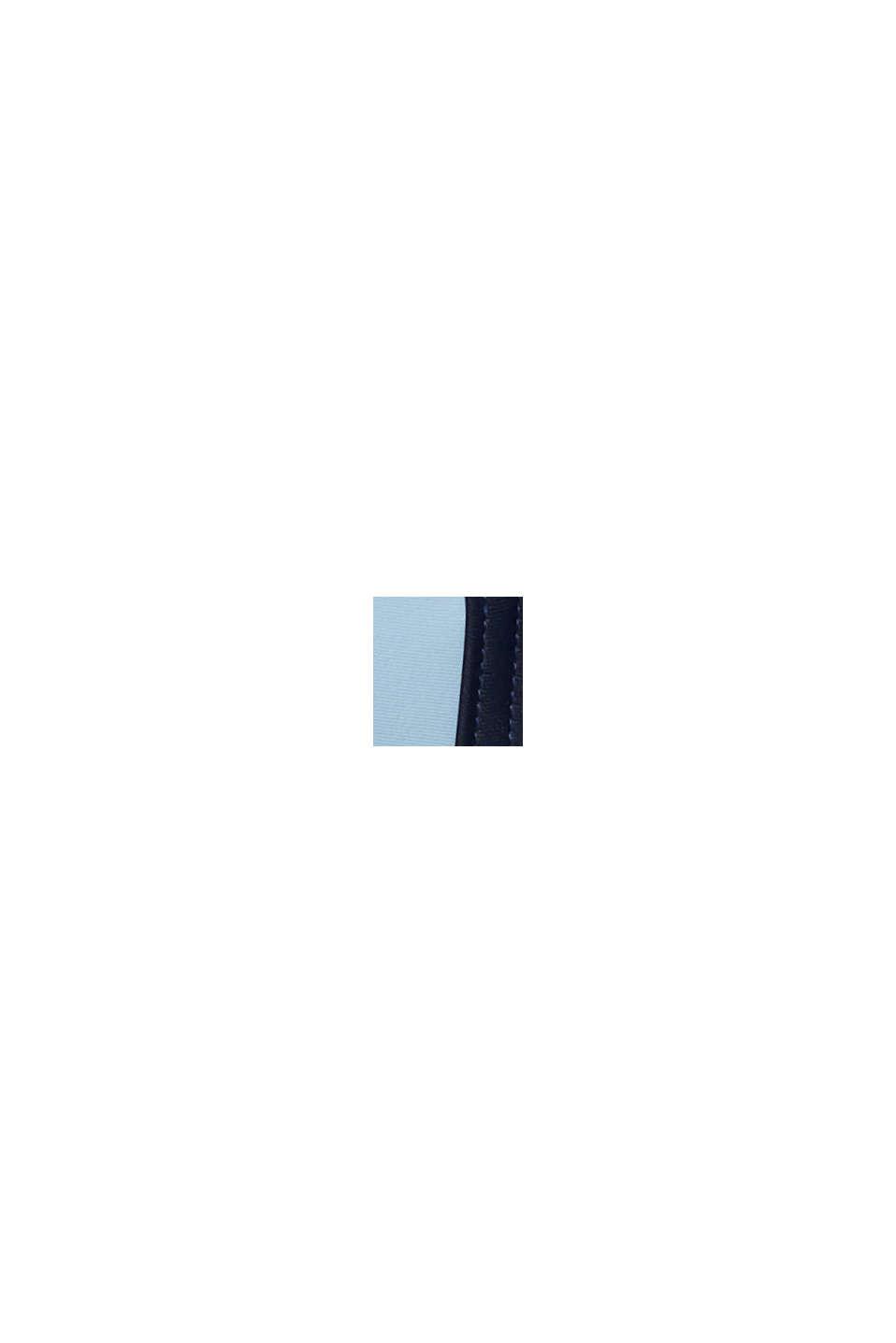 Väripalkein somistettu topattu toppi, LIGHT BLUE, swatch