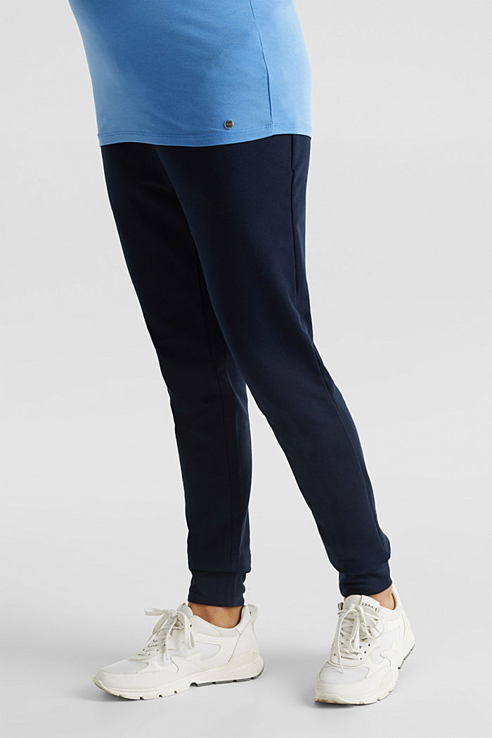 Tracksuit bottoms with an under-bump waistband, NIGHT BLUE, detail image number 5