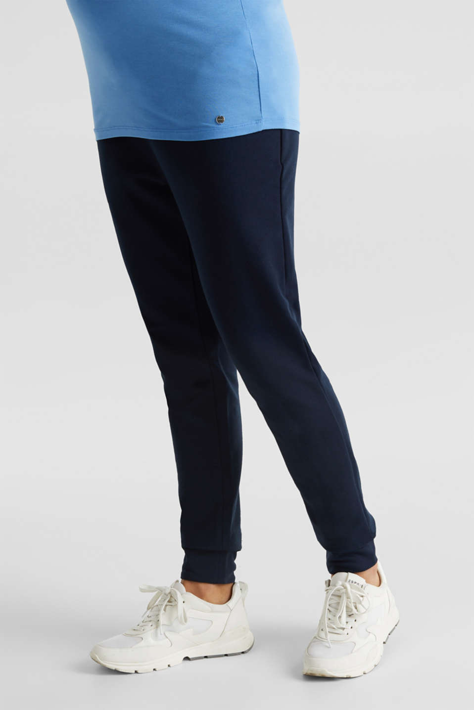 Tracksuit bottoms with an under-bump waistband, LCNIGHT BLUE, detail image number 5