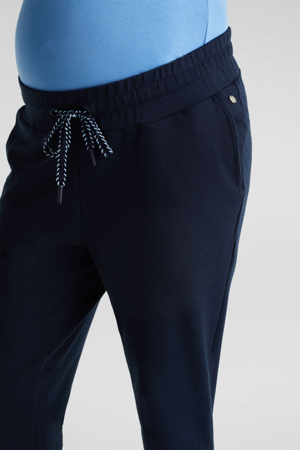 Tracksuit bottoms with an under-bump waistband, LCNIGHT BLUE, detail image number 1
