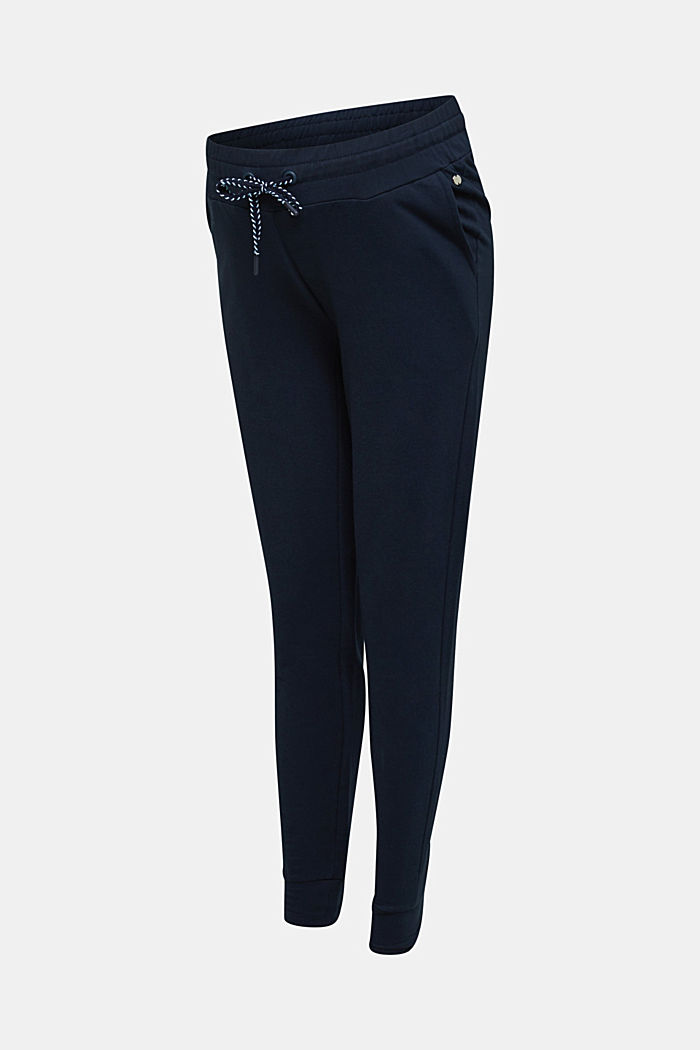 Tracksuit bottoms with an under-bump waistband, NIGHT BLUE, detail image number 6