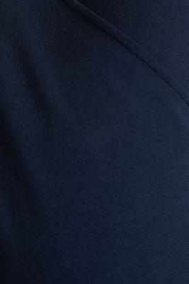 Stretch cotton sweatshirt, NIGHT BLUE, detail