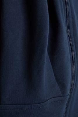 3-way, hooded sweatshirt jacket, LCNIGHT BLUE, detail