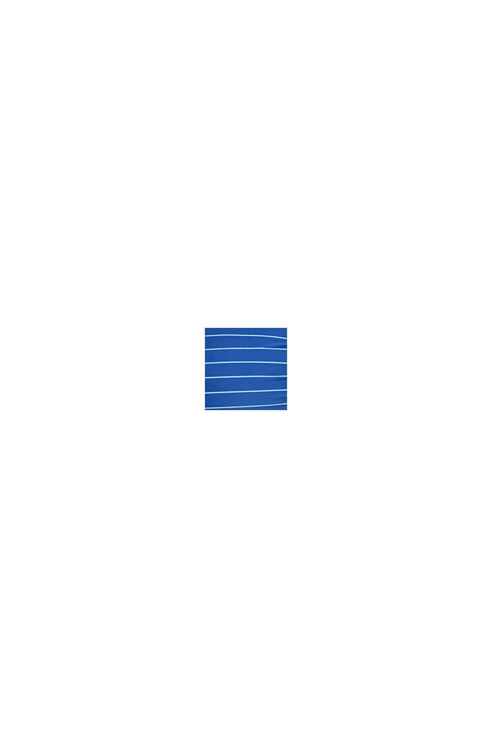 Topattu, ryppytehosteinen toppi, BRIGHT BLUE, swatch